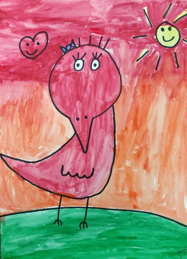 Art for Kids: James Rizzi's Birds