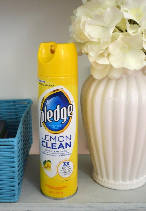 Pledge Lemon Clean
