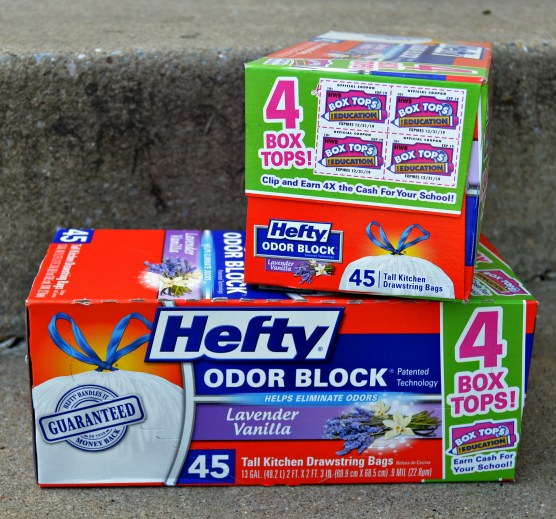 Hefty Box Tops for Education