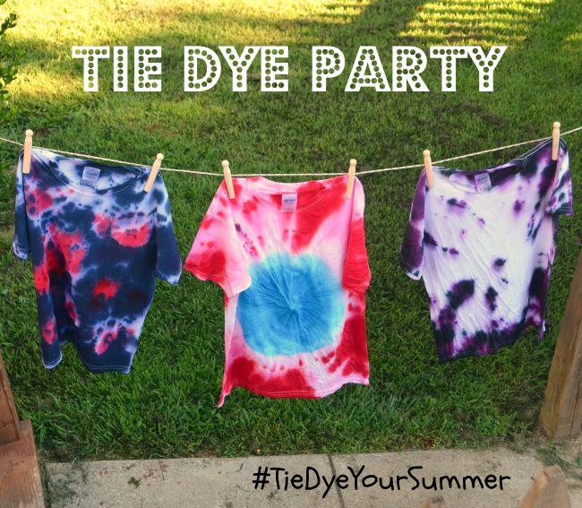 Tie Dye Party