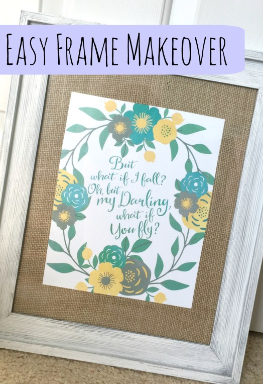 Easy Frame Makeover