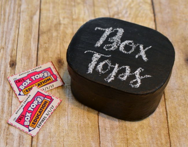 Box Tops Collection Container