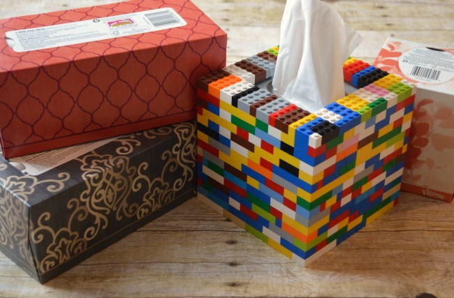 Kleenex Facial Tissue and a Special Box Cover