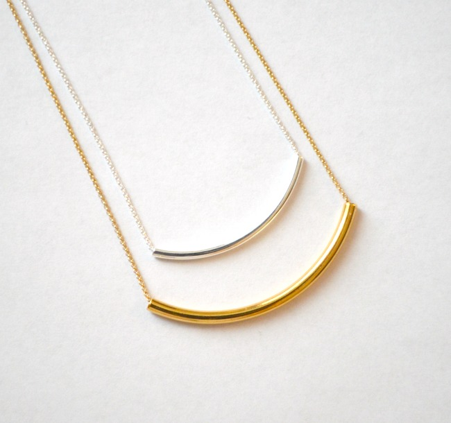 Layering Tube Necklaces