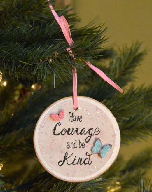 Favorite Quote Christmas Ornament