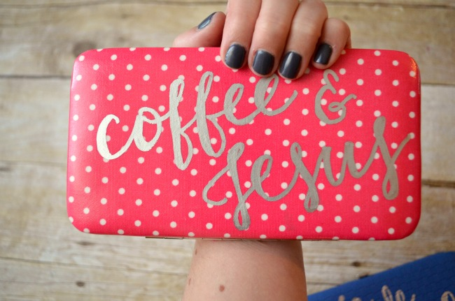 Hand Lettered Wallets