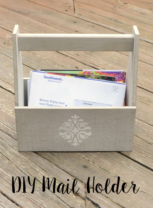 DIY Mail Holder