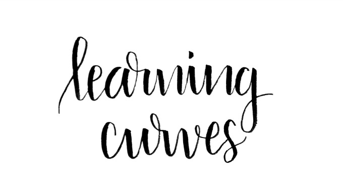 Basic Brush Lettering: Learning Curves