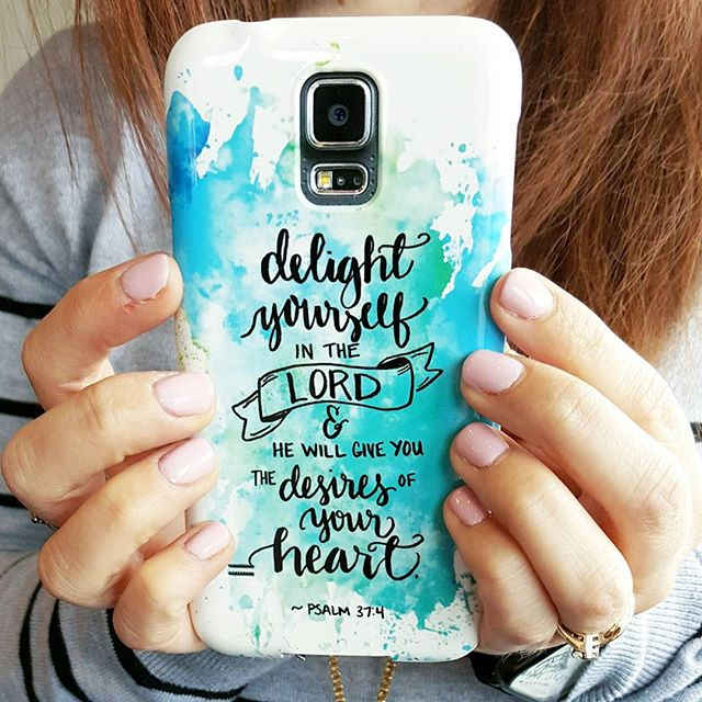Hand Lettered Phone Case with CaseApp