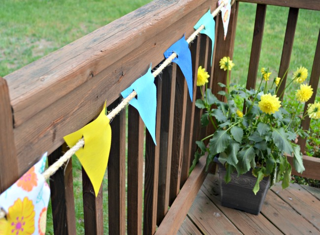 DIY Outdoor Banner
