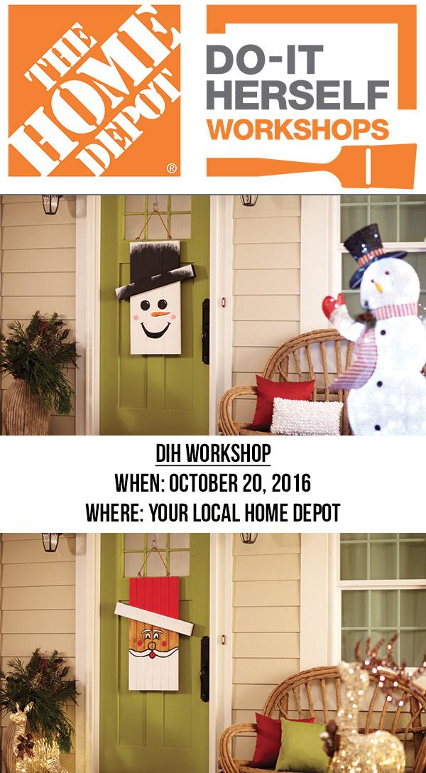 Home Depot Dih Workshop Party Seasonal Character Amy Latta Creations