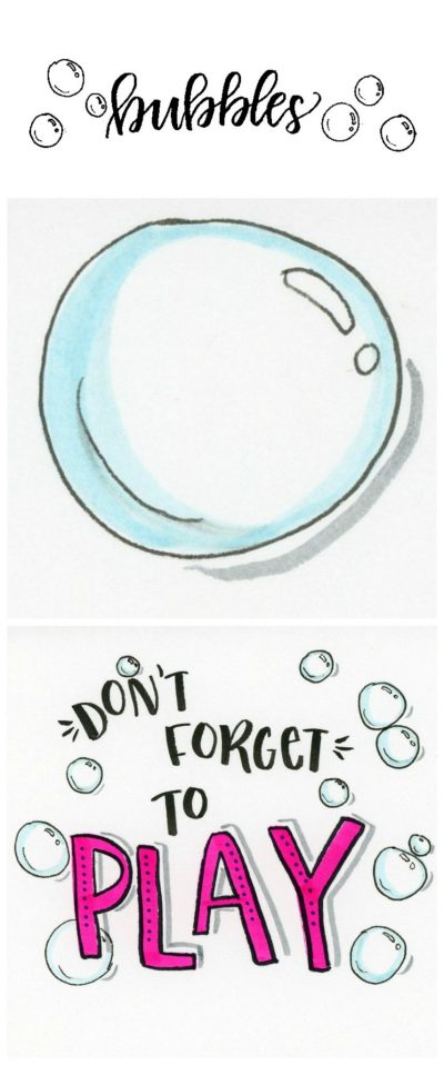 Drawing Bubbles
