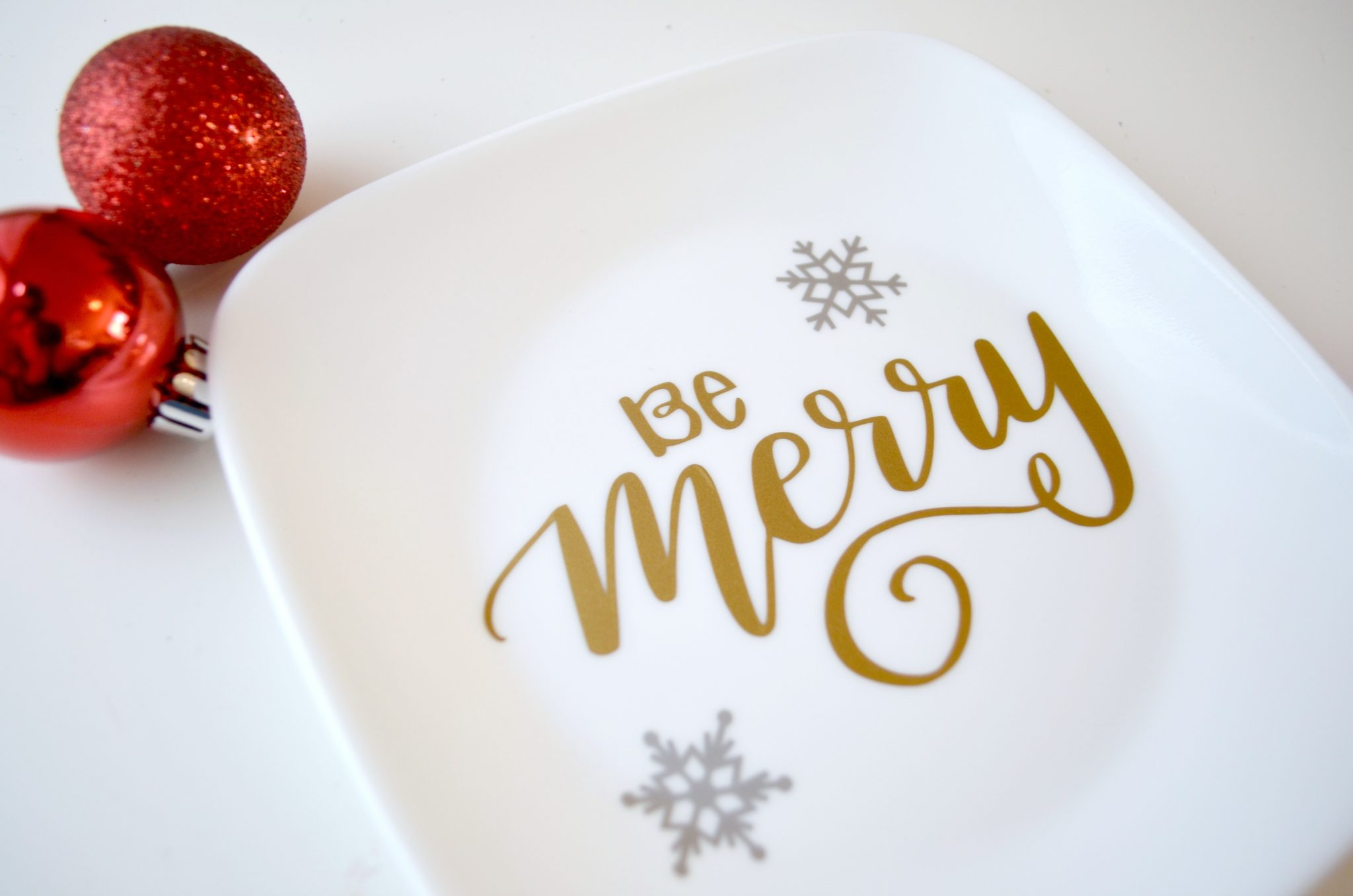 Hand Lettered Dishes