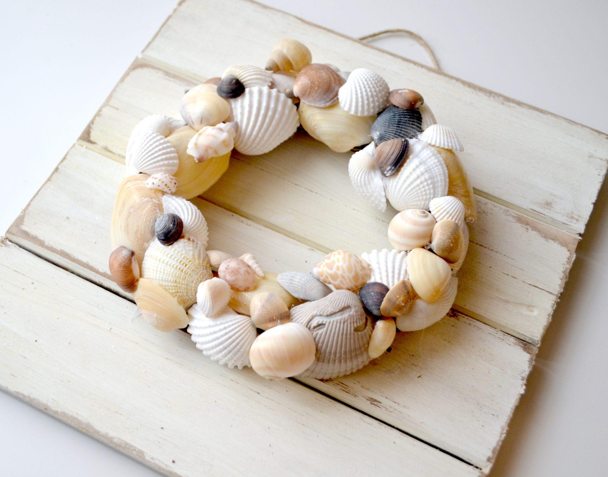 Seashell Beach Wreath