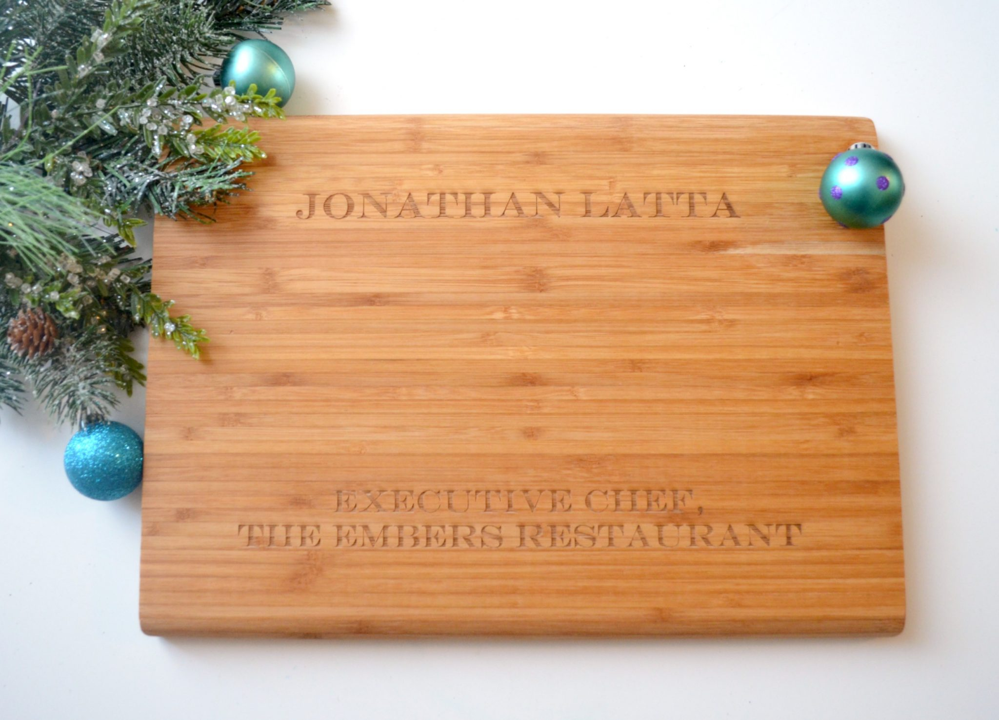 Shutterfly Engraved Cutting Board