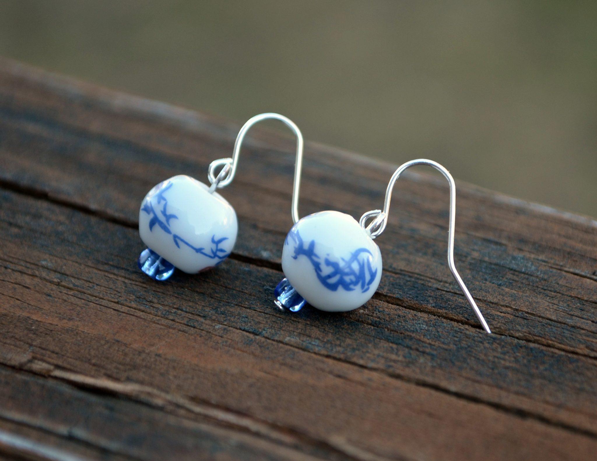 Chinese Dangle Earrings