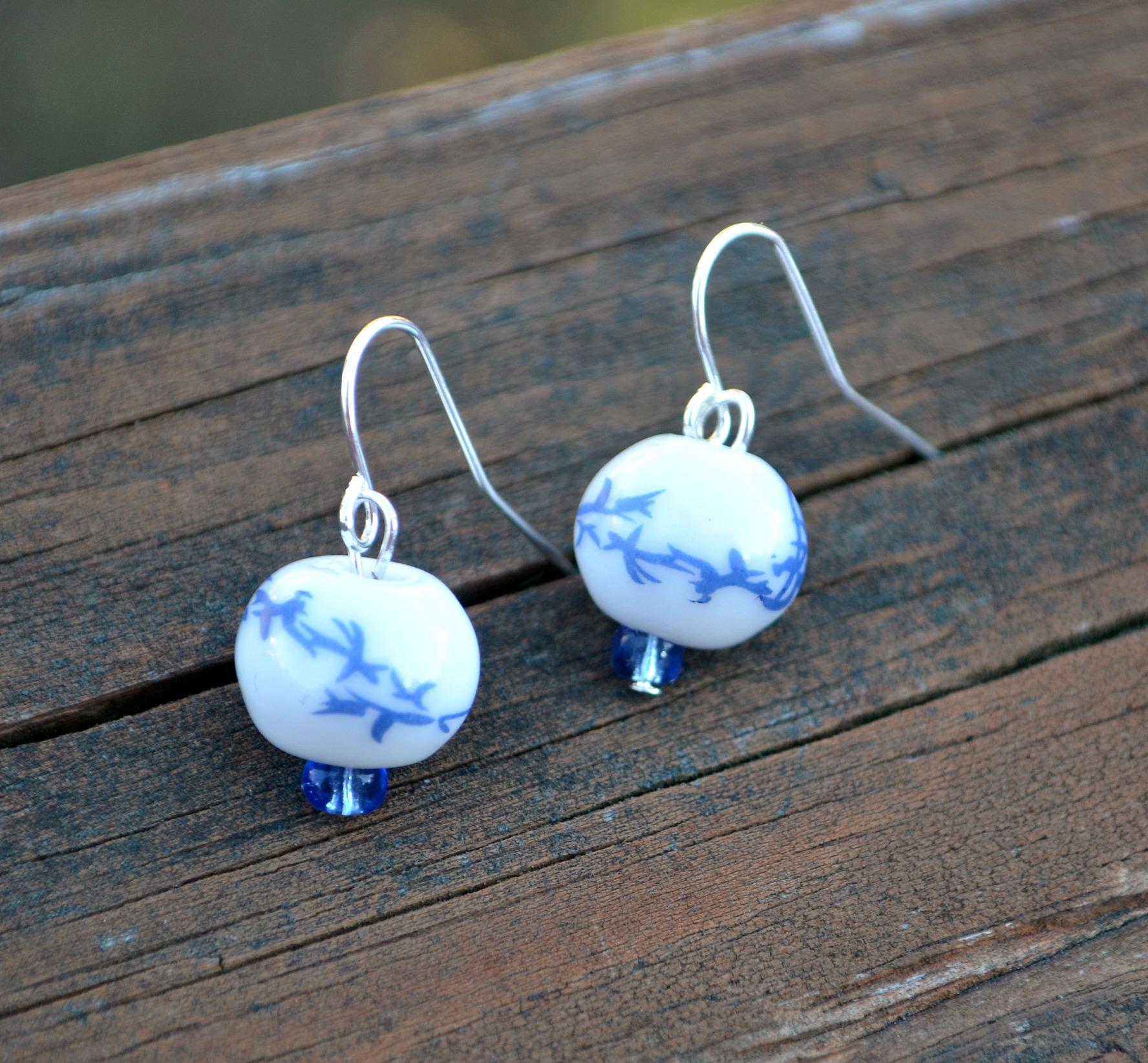 Oriental Dangle Earrings