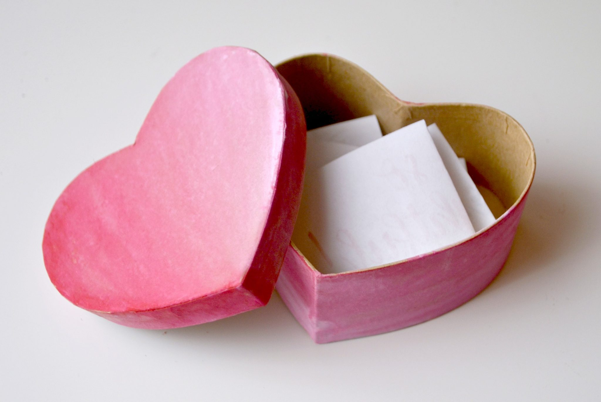 Valentine Love Note Box