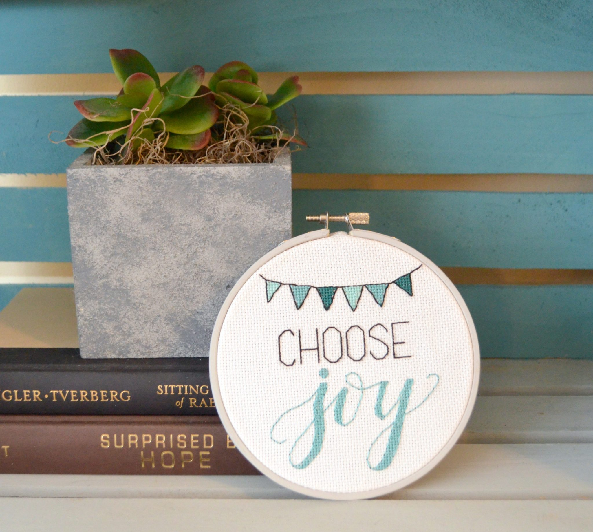 Lettered Cross Stitch