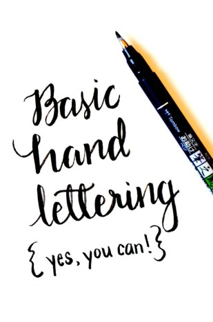 Hand Lettering Tutorials: Learn to Letter at Amy Latta Creations