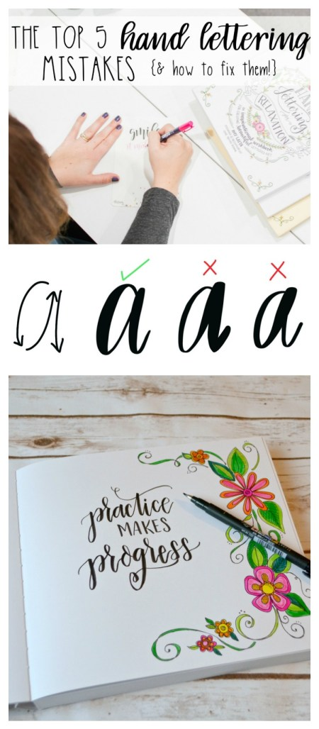 The Top 5 Hand Lettering Mistakes