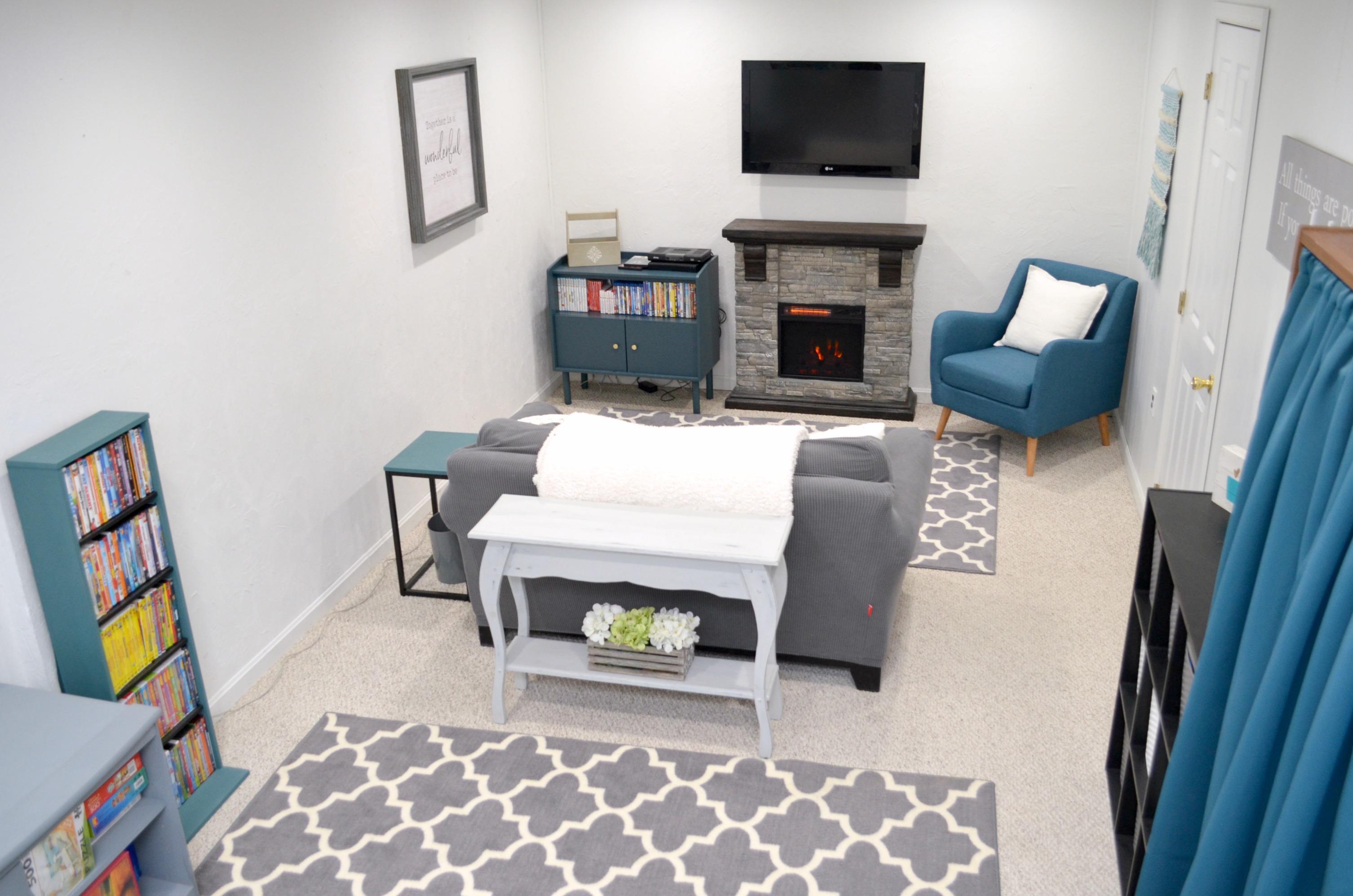 Family Room Makeover