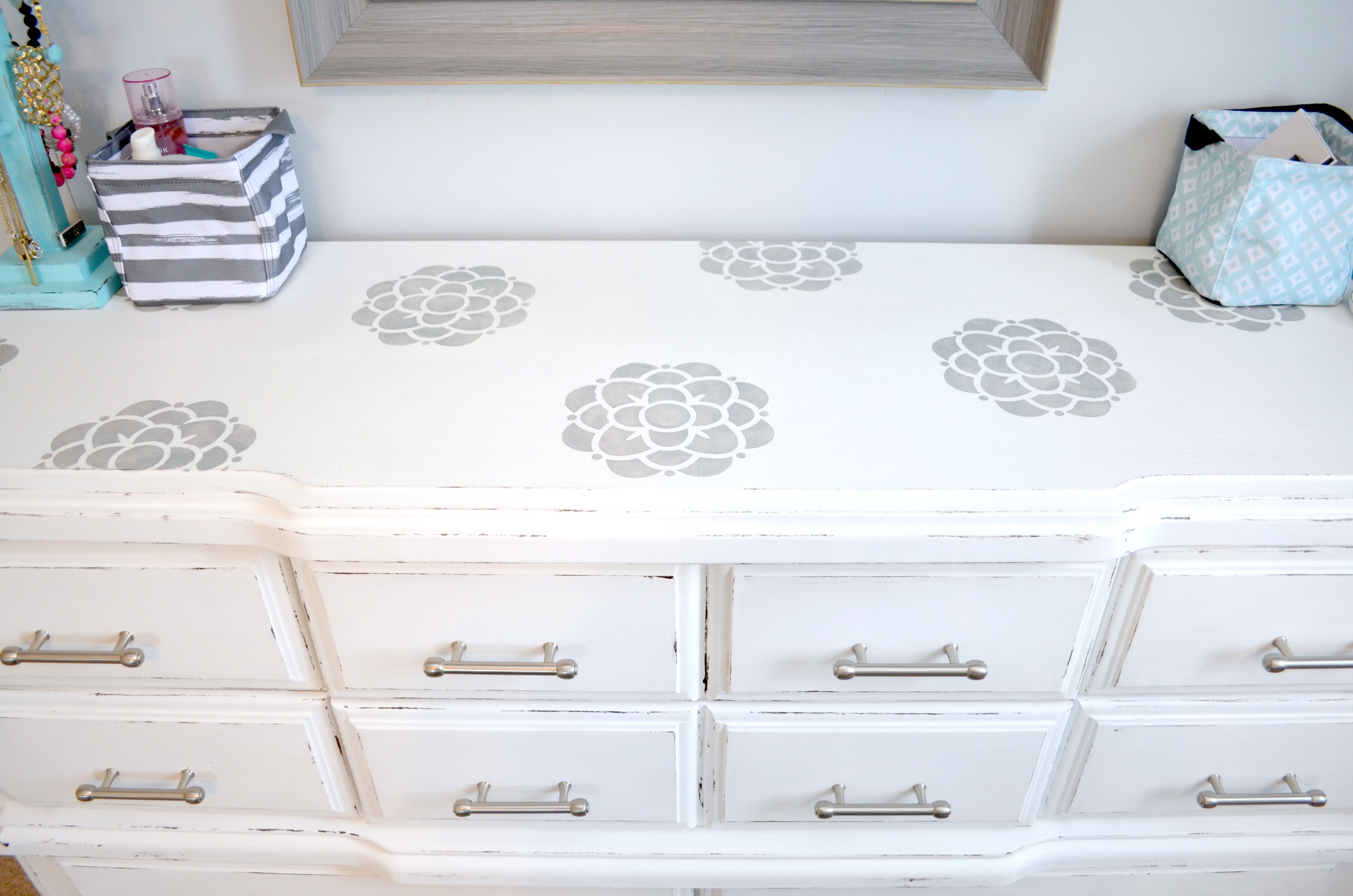 Chalk Paint Dresser Makeover Amy Latta Creations