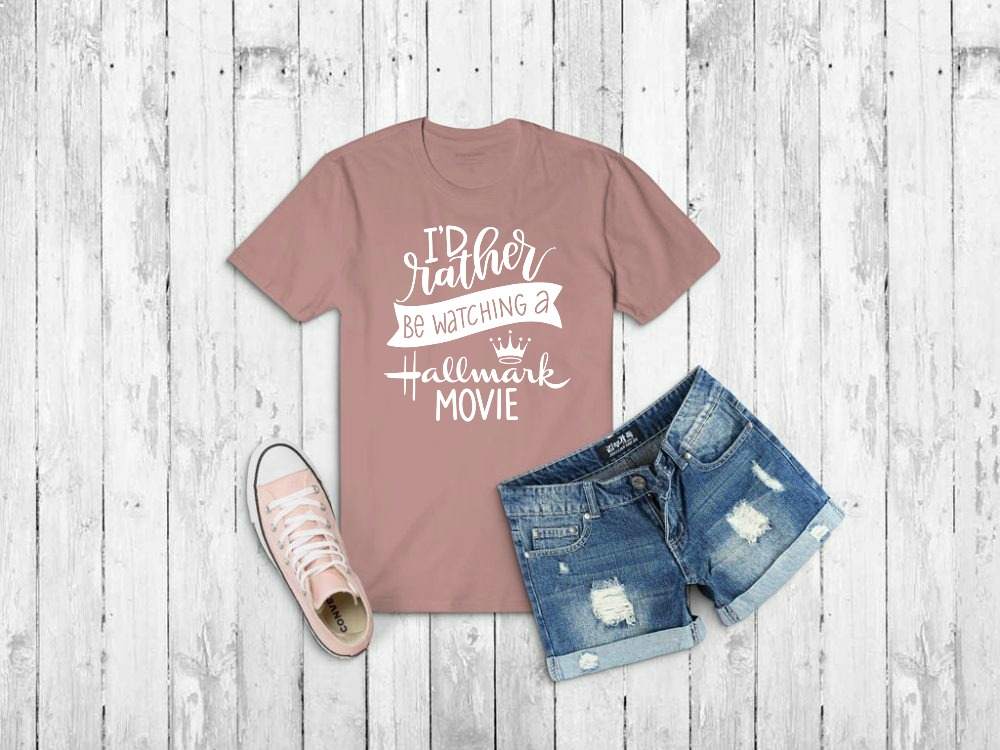 Diy Hallmark Movie Fan T Shirts Free Cut Files Amy Latta Creations