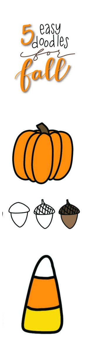 5 Easy Fall Doodles