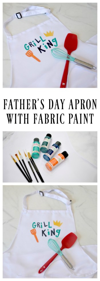 Father's Day Apron with Fabric Creations