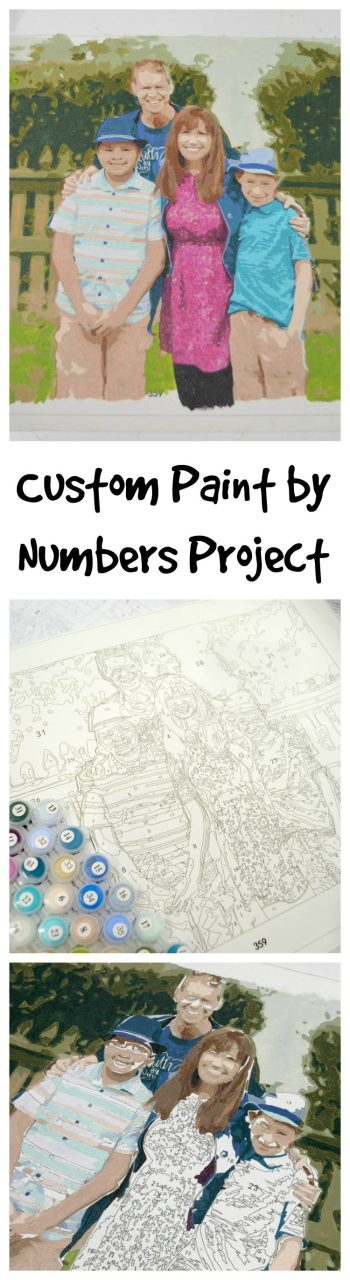 Custom Paint by Numbers for Adults
