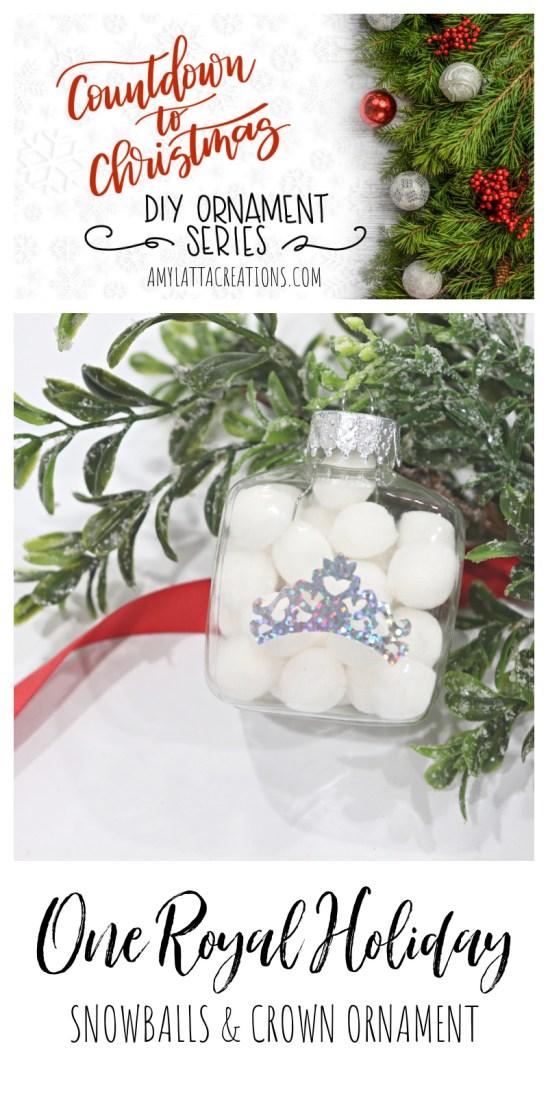One Royal Holiday DIY Ornament