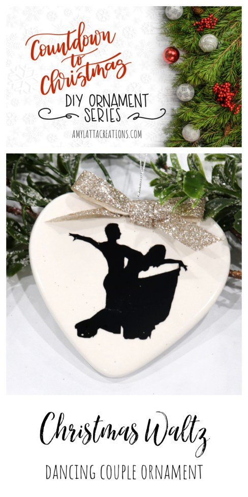 Christmas Waltz Ornament