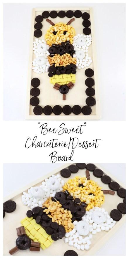 """""""Bee Sweet"""" Charcuterie Dessert Board"""