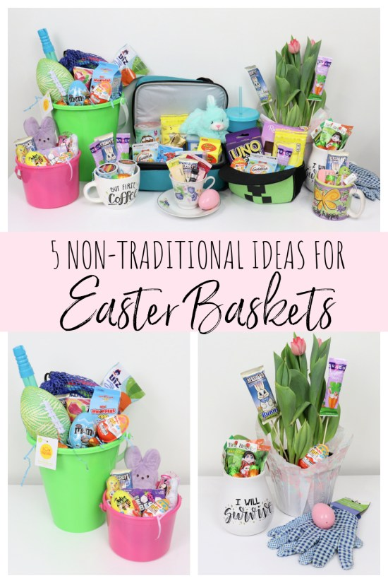 5 Non-Traditional Easter Basket Ideas