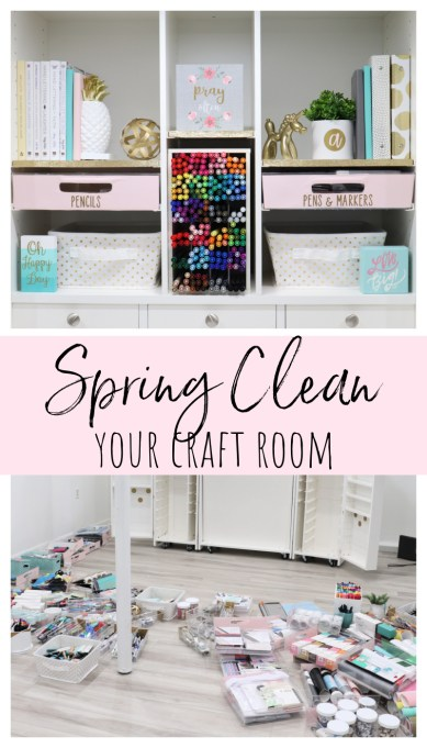 Spring Clean Your Craft Room
