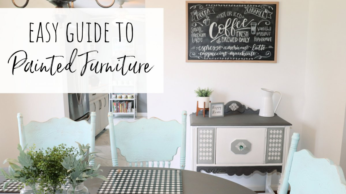 Easy Guide to Painted Furniture