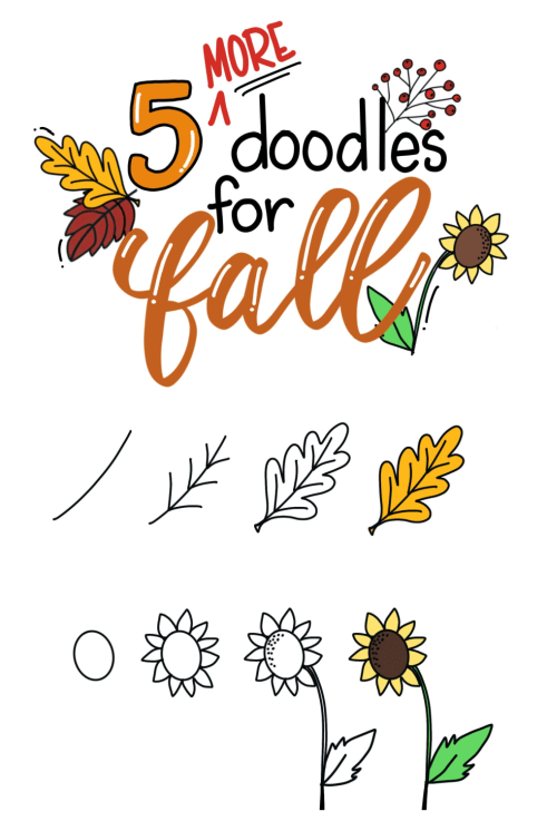5 Fall Doodles