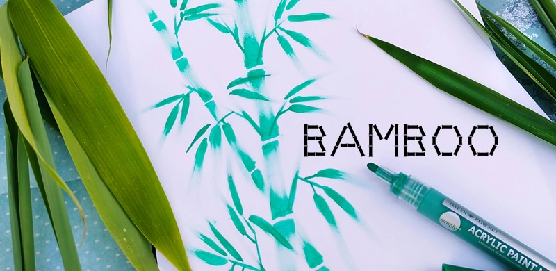 Dessin Bambou Facile Technique A Retenir