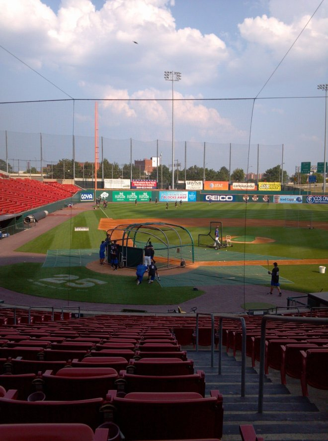 Welcome to Coca-Cola Field, home of the Buffalo Bisons.