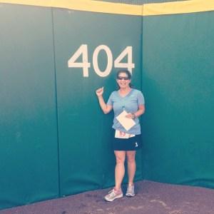 The 404 sign. Coca-Cola Field