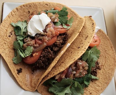 Easy Shredded Beef Taco Meat In The Crockpot