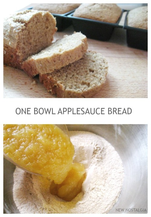 APPLESAUCE-BREAD