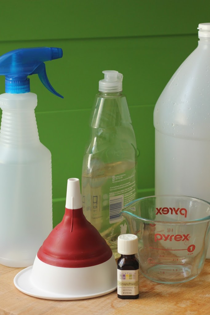 Easy Homemade Glass Cleaner That Smells Awesome!