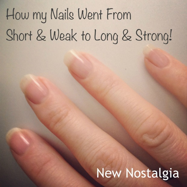 How My Nails Went From Short & Weak To Long & Strong Using