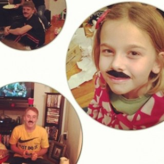silly mustaches