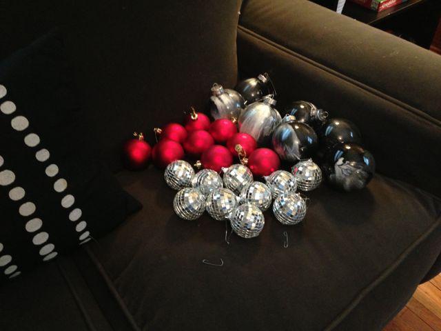 storing Christmas ornaments