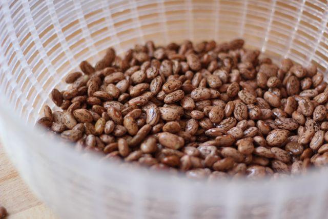 washing beans