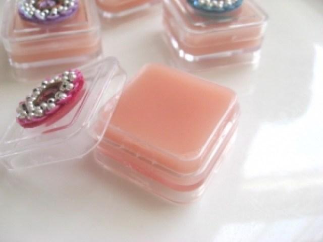 homemade natural lip balm