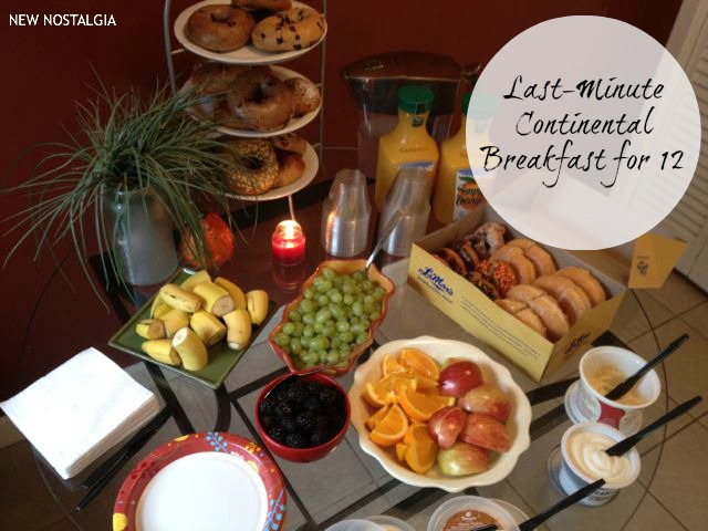 Continental Breakfast for 12